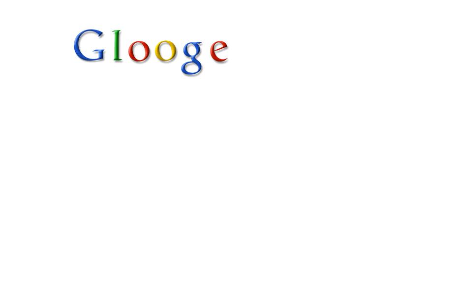 Glooge, the fake search engine!